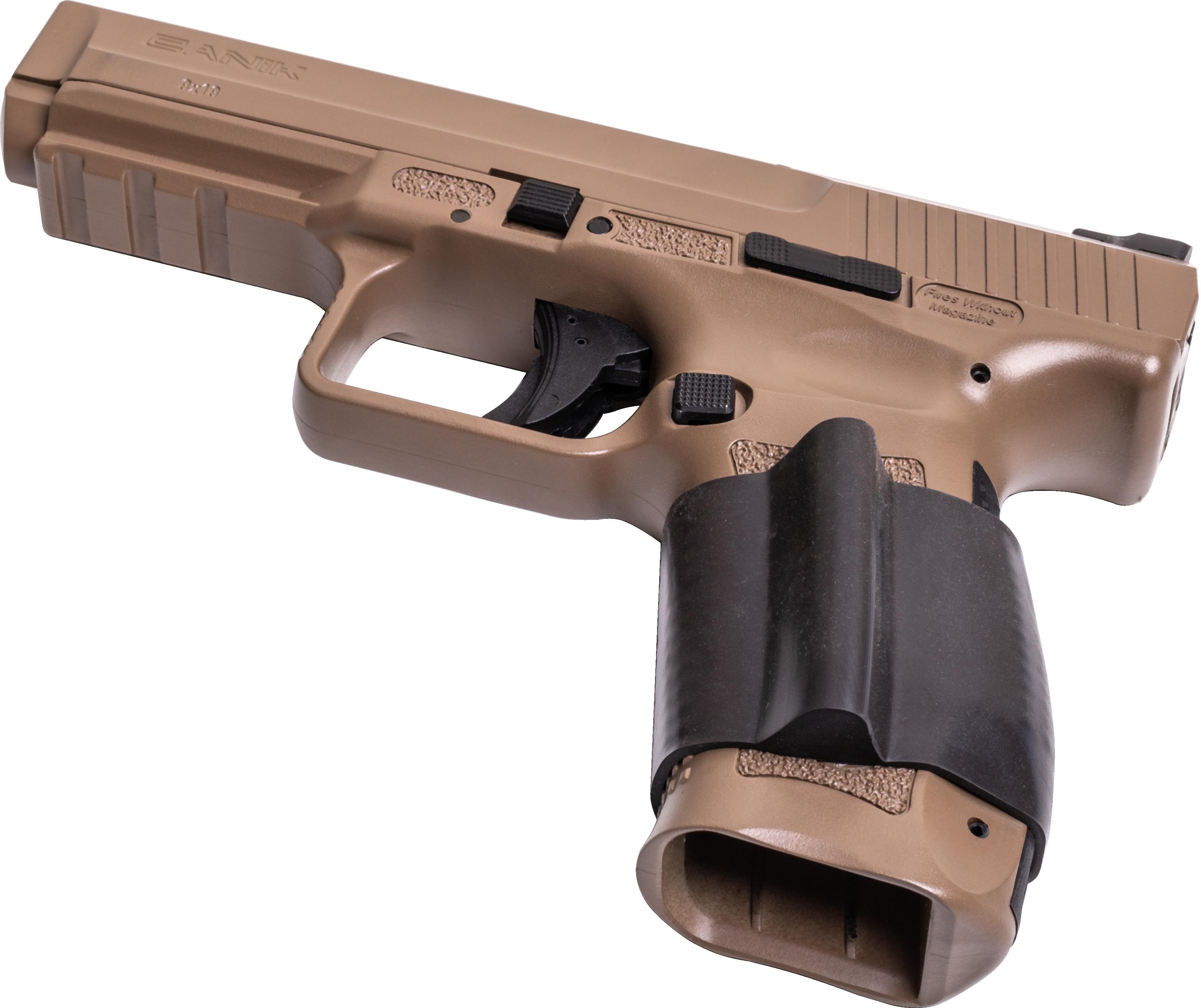 Medium-Large Frame Pistols - Support Hand Grip Assist Sleeve