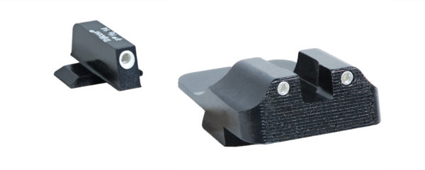 SIG P320 / P229, Night Sight 3 Lamp Tritium Set, 2 Lamp Serrated Rear Sight  and 1 Lamp Front Sight