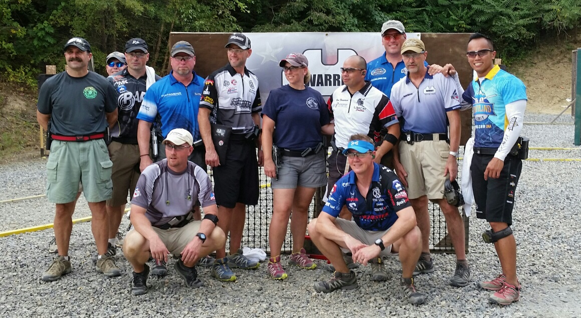 """Sunday's Super Squad"" at USPSA Area 8 Championship, Fredricksburg, VA – 2016"
